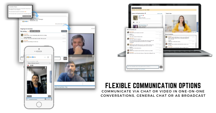 Flexible communication options